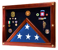 Freedom Shadow Box & Flag Case