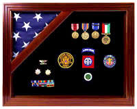 colonial flag case shadow box