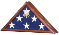 flag case flag frame glass united states seal